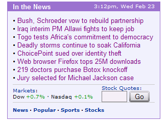 Firefox On Yahoo