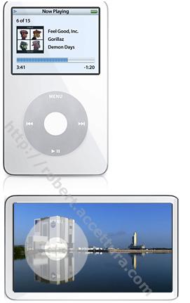iPod Wide Screen