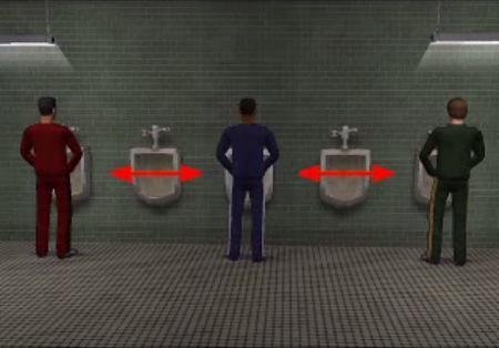 Male Restroom Etiquette