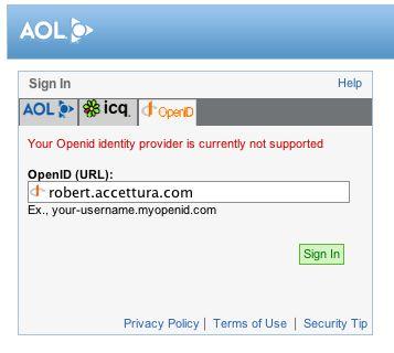 AOL OpenID