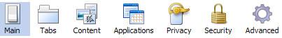 Firefox 3.0b3 Options (Windows XP)