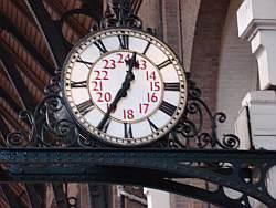 Roman Numeral Analog Clock