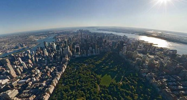 New York - Birds Eye View