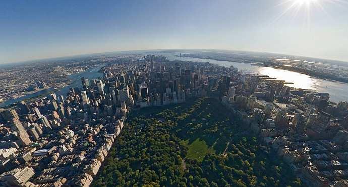 New york – birds eye view