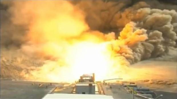 Ares I Rocket Test