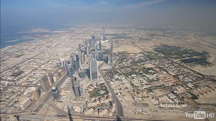 View From The Top Of Burj Khalifa | Robert Accettura's Fun ...
