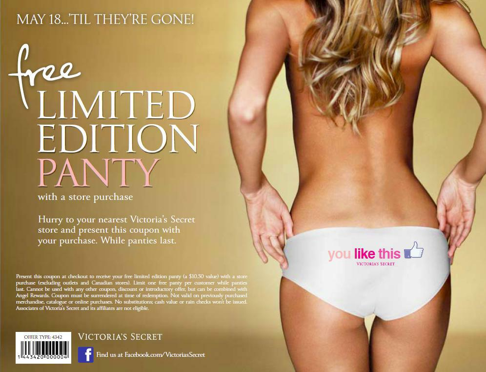"""Victoria Secret """"You Like This"""" Limited Edition"""