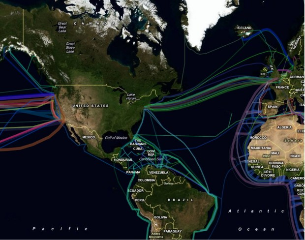 Undersea Cable Map