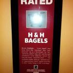 H&H Bagels Zagat Rating