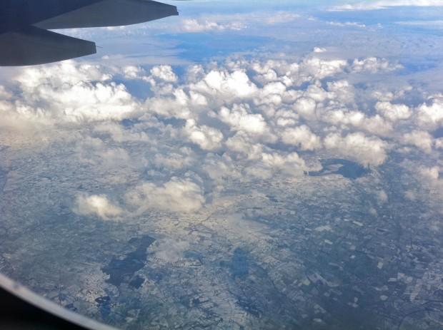 Somewhere over Ireland