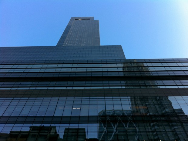 Time Warner Center Looking Up
