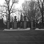 Looking Down WItherspoon At Nassau Hall