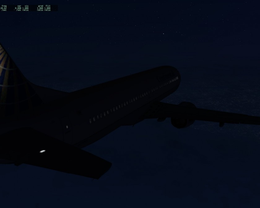 X-Plane - 737 Over Northern NJ