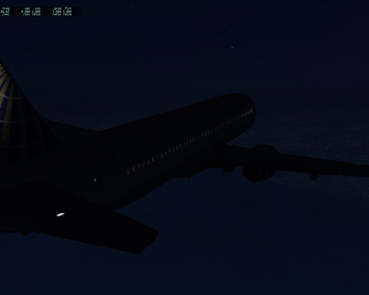 X-Plane - 737 Over Northern NJ