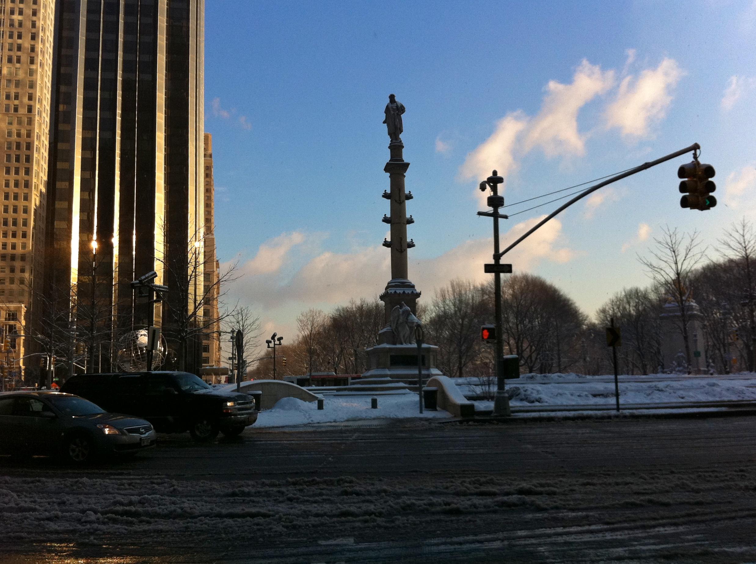 Columbus Circle Last Friday