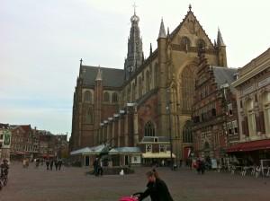 Sint-Bavokerk on the Grote Markt