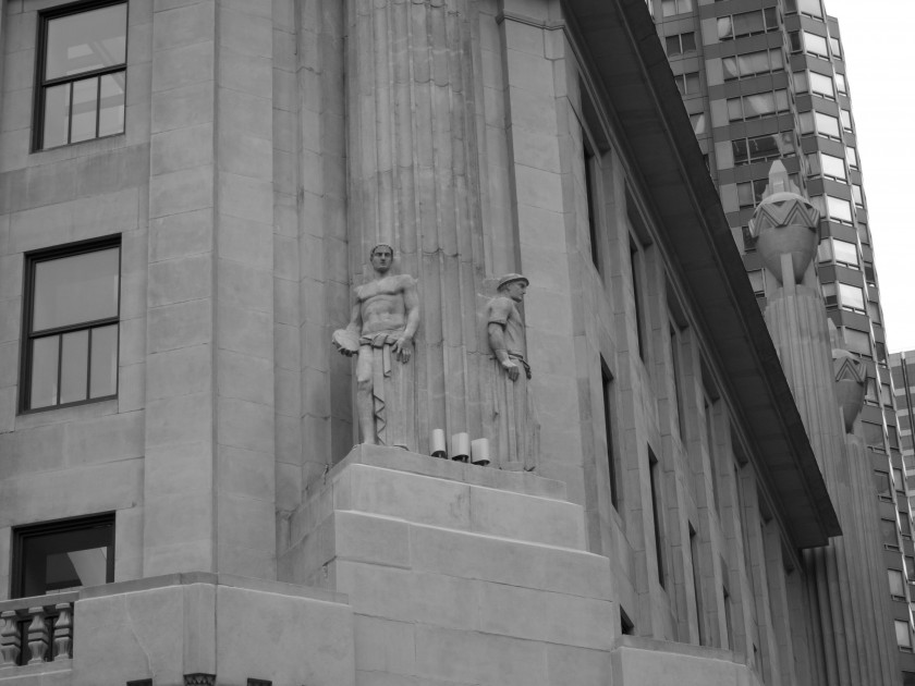 Hearst Statues