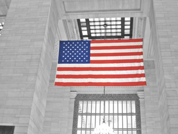 Day 121 - Grand Central Flag