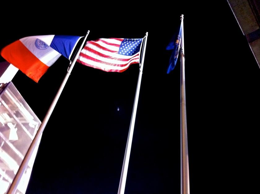 Day 134 - Yankee Stadium Flags