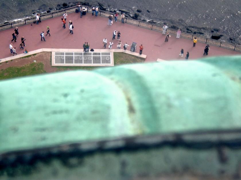 Day 136 - Statue Of Liberty Tilt Shift