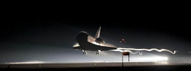 Shuttle Atlantis Landing Final Flight