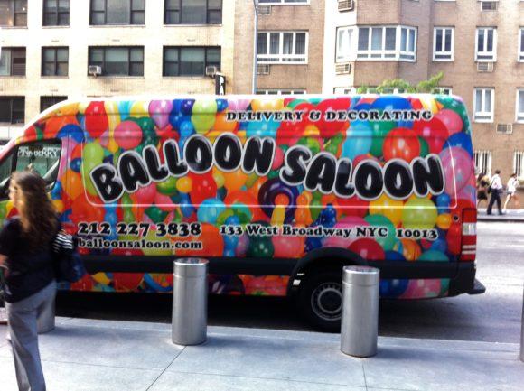 Day 218 - Balloon Saloon