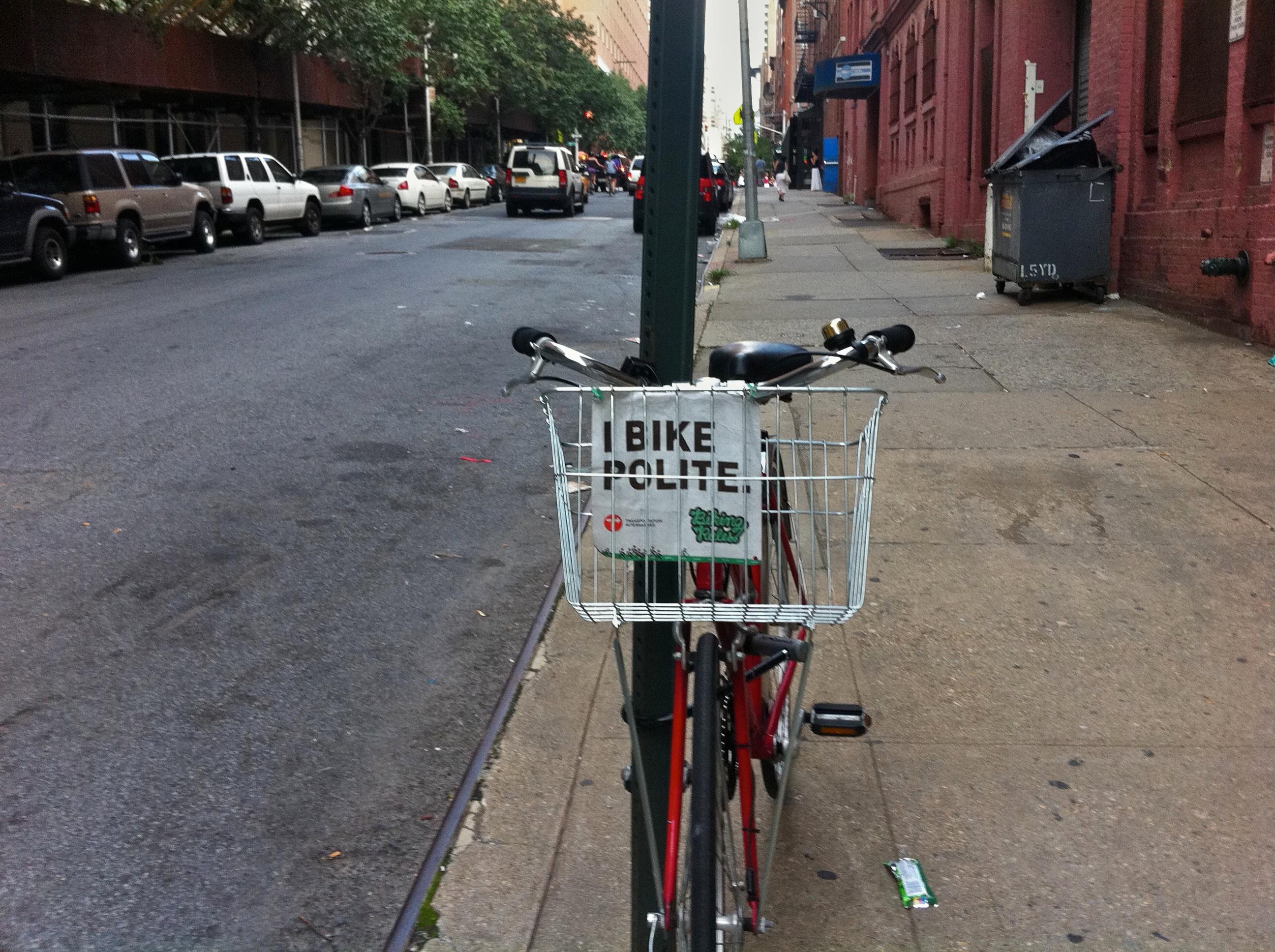 Day 242 - I Bike Polite
