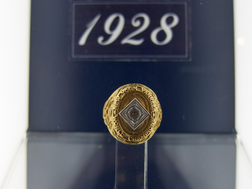 Day 276 - 1928 World Series Ring