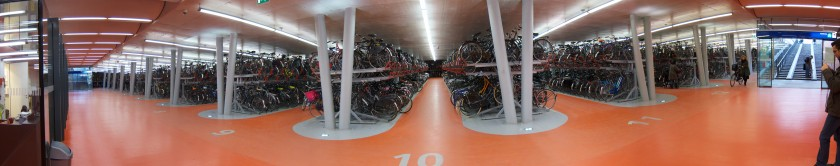 Day 327 - Bike Parking