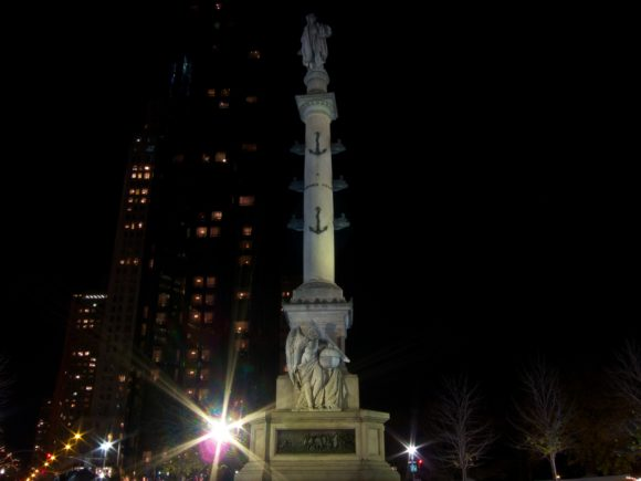 Day 341 - Columbus Circle By Night