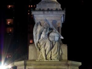Day 342 - Angel Holding Globe