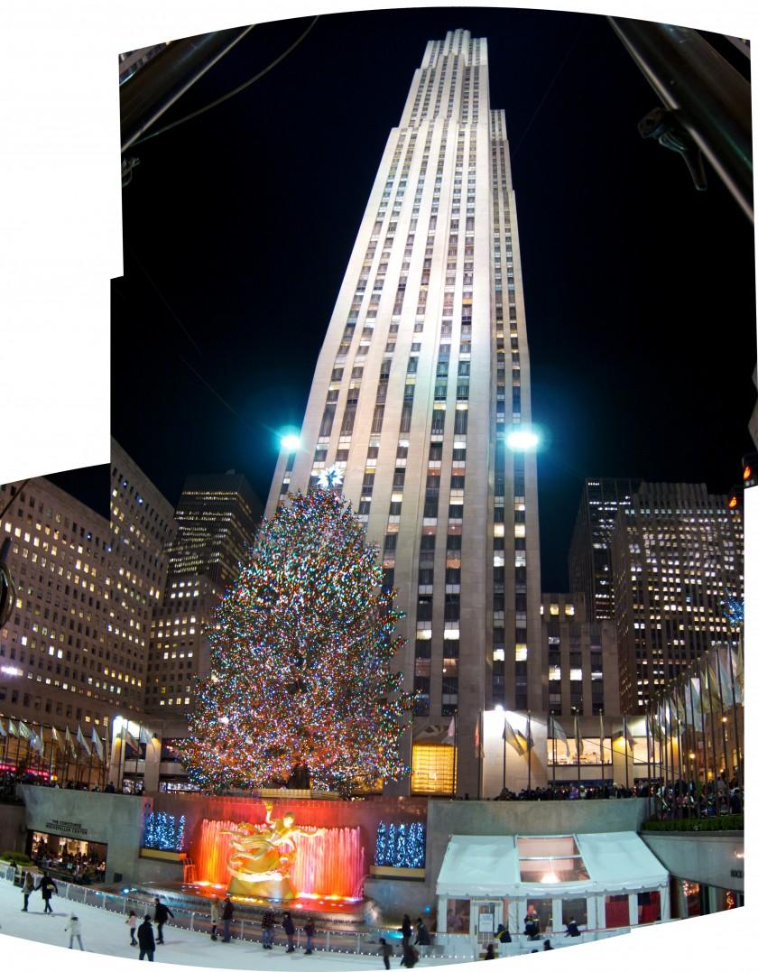 Day 349 - Rockefeller Center Tree