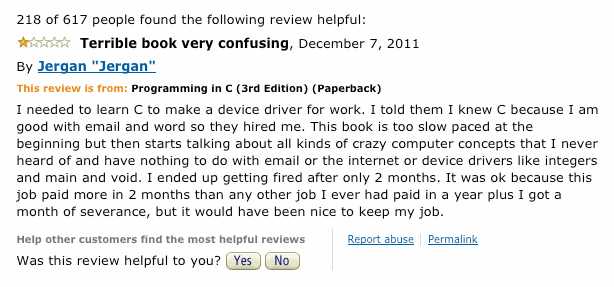 Best Programming Book Review