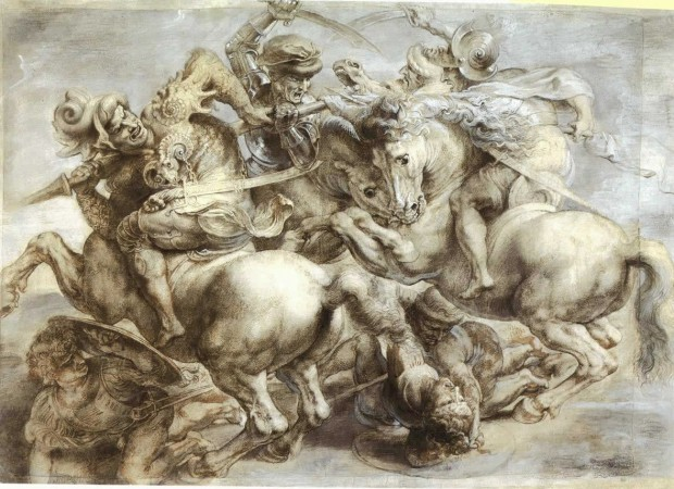Leonardo da Vinci's The Battle of Anghiari