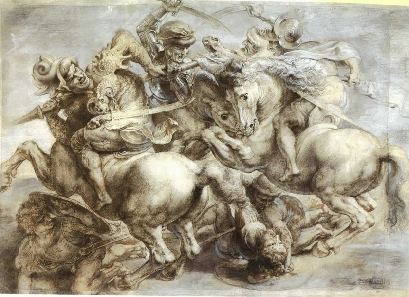 Leonardo da Vinci's The Battle of Anghiari