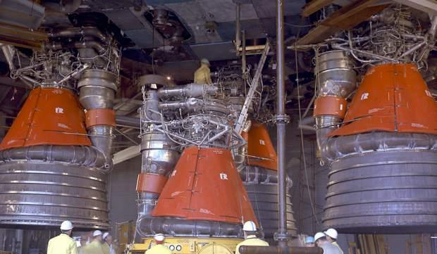 Saturn V F-1 Rockets
