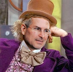 Steve Jobs Willy Wonka