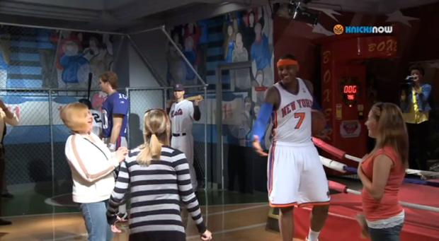 Carmelo Anthony Madame Tussaud Wax Museum