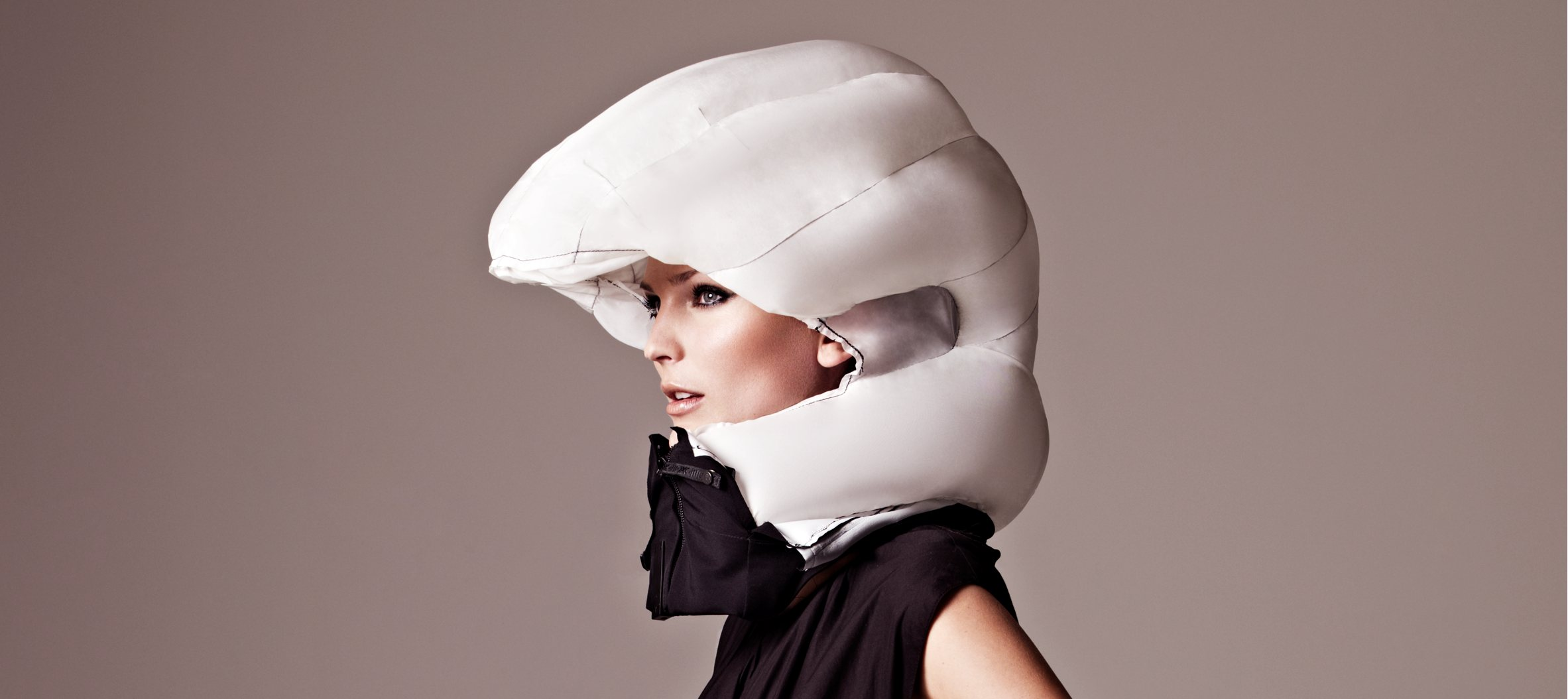Hövding Bike Helmet Open