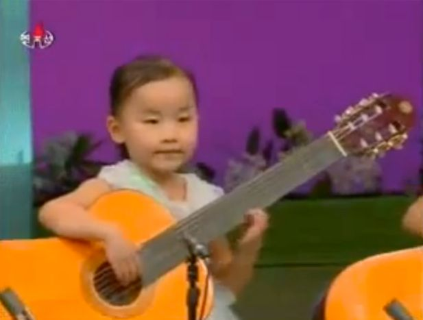 North Korean Guitar Kids