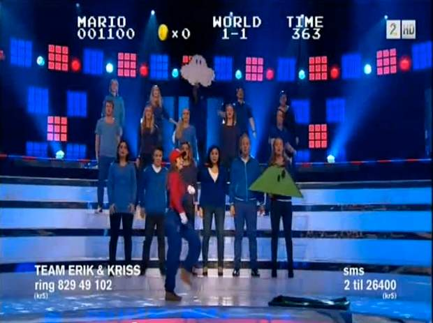 Super Mario A Capella