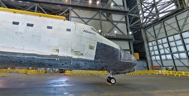 NASA - Shuttle Atlantis - Google Maps Tour
