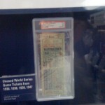 1938 World Series Ticket