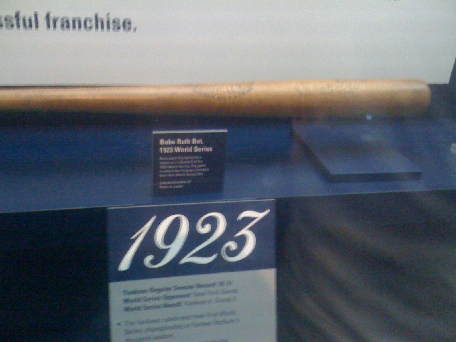 Babe Ruth's Bat