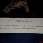 Black Tom Melted Bottle