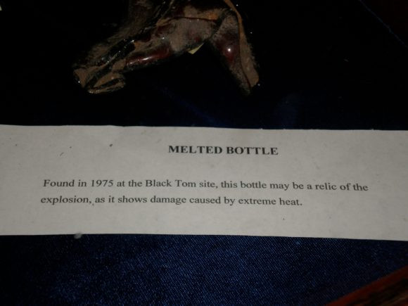 Black Tom Melted Bottle