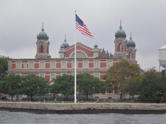Ellis Island From Ferry