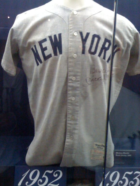 Mickey Mantle's Jersey