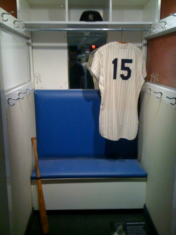 Thurman Munson's Locker
