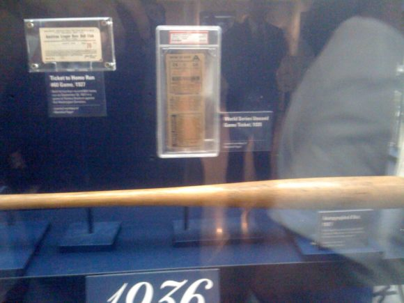 Unused 1928 World Series Ticket